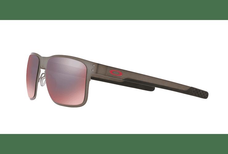 Oakley Holbrook Metal Matte Gunmetal lente Torch Iridium Polarized cod. OO4123-0555 - Image 2