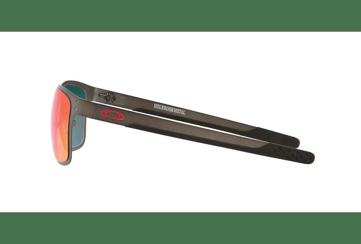 Oakley Holbrook Metal Matte Gunmetal lente Torch Iridium Polarized cod. OO4123-0555 - Image 3