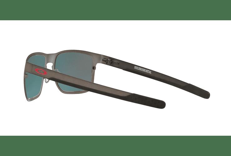 Oakley Holbrook Metal Matte Gunmetal lente Torch Iridium Polarized cod. OO4123-0555 - Image 4