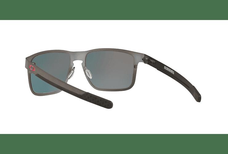 Oakley Holbrook Metal Matte Gunmetal lente Torch Iridium Polarized cod. OO4123-0555 - Image 5