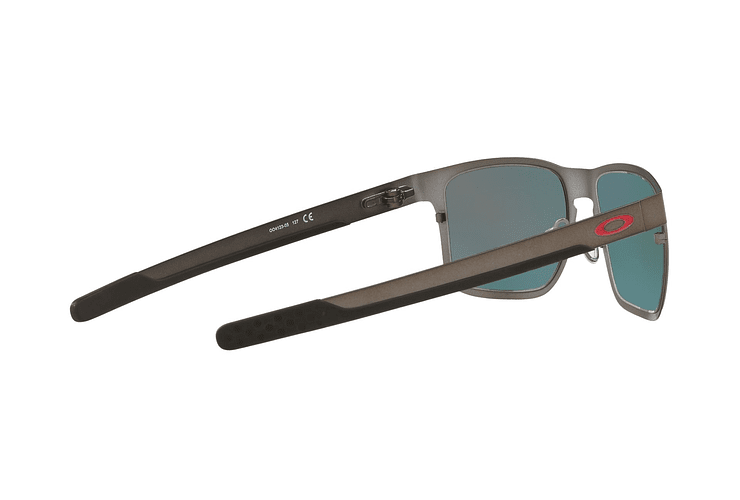 Oakley Holbrook Metal Matte Gunmetal lente Torch Iridium Polarized cod. OO4123-0555 - Image 8