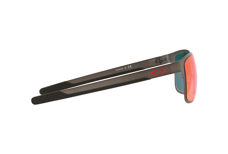 Oakley Holbrook Metal Matte Gunmetal lente Torch Iridium Polarized cod. OO4123-0555 - Image 9