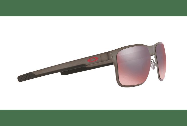 Oakley Holbrook Metal Matte Gunmetal lente Torch Iridium Polarized cod. OO4123-0555 - Image 10