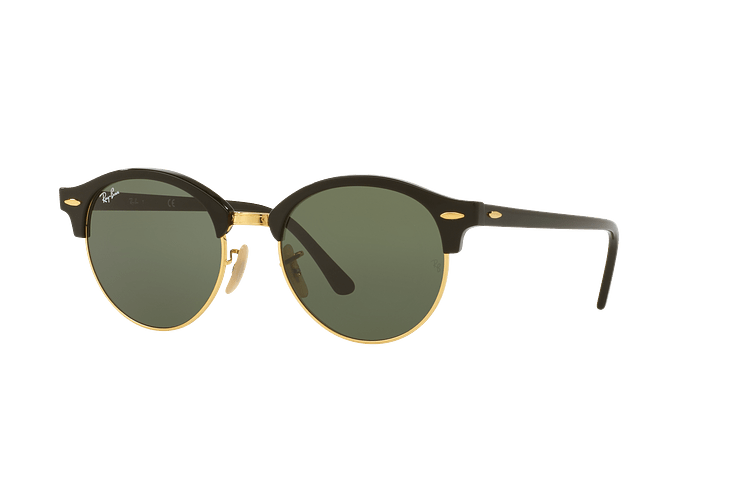 Ray Ban Clubround Black lente Green cod. RB4246 901 51 - Image 1