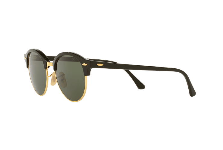 Ray-Ban Clubround Black lente Green cod. RB4246 901 51 - Image 2
