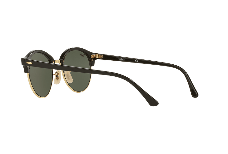 Ray-Ban Clubround Black lente Green cod. RB4246 901 51 - Image 4