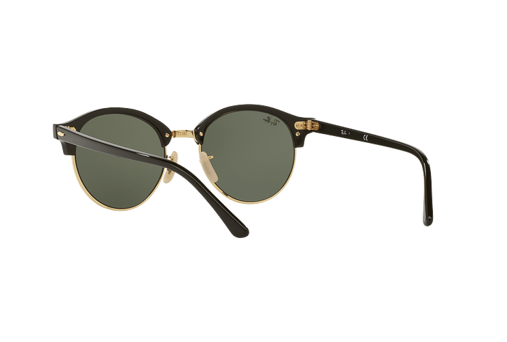 Ray-Ban Clubround Black lente Green cod. RB4246 901 51 - Image 5