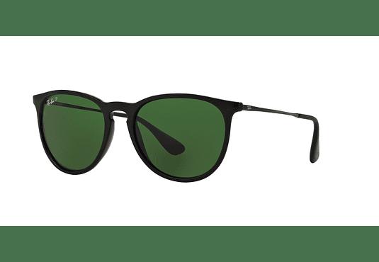 Ray Ban Erika Black lente Green Polarized cod. RB4171 601/2P 54