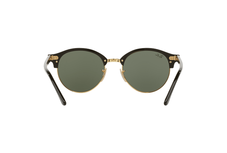 Ray Ban Clubround Black lente Green cod. RB4246 901 51 - Image 6
