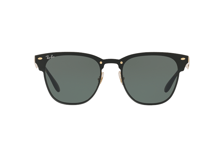 Ray Ban Blaze Clubmaster Brusched Gold lente Dark Green cod. RB3576N 043/71 47 - Image 12