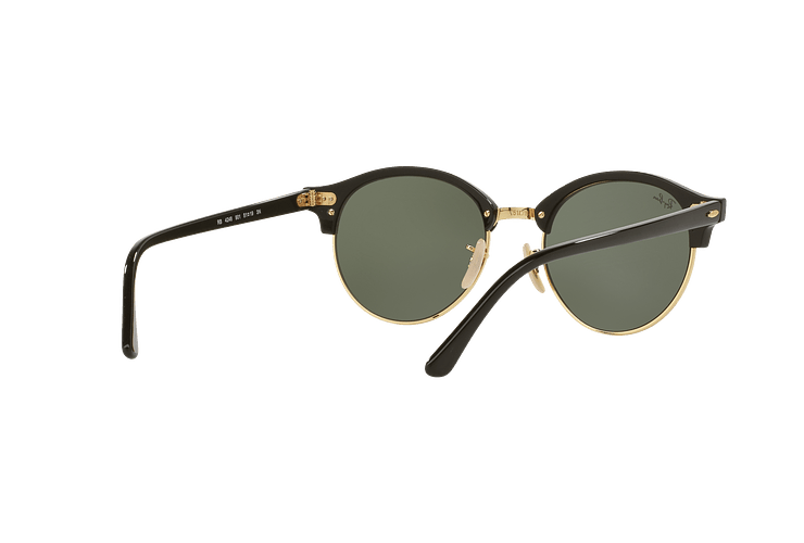 Ray-Ban Clubround Black lente Green cod. RB4246 901 51 - Image 7