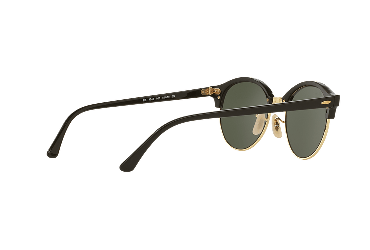 Ray Ban Clubround Black lente Green cod. RB4246 901 51 - Image 8
