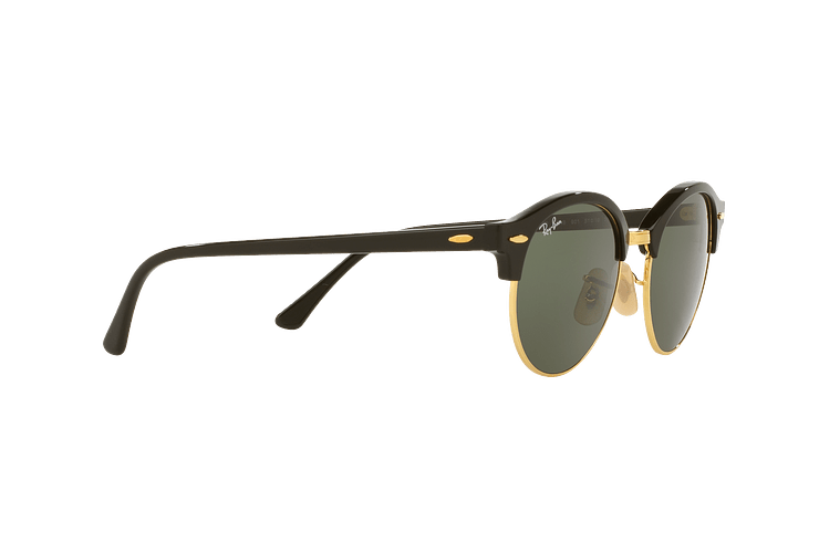Ray-Ban Clubround Black lente Green cod. RB4246 901 51 - Image 10