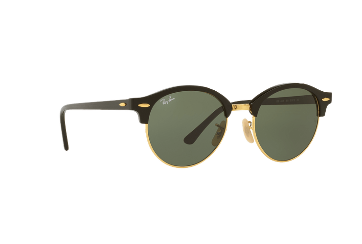 Ray Ban Clubround Black lente Green cod. RB4246 901 51 - Image 11