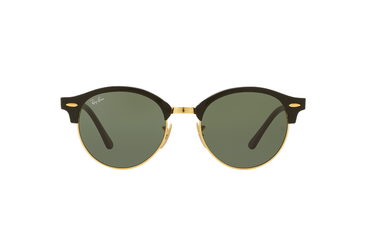 Ray Ban Clubround Black lente Green cod. RB4246 901 51 - Image 12