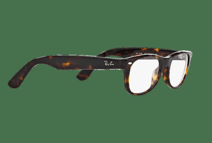 Armazón óptico Ray Ban New Wayfarer RX5184 Dark Havana cod. RX5184 2012 54 - Image 10