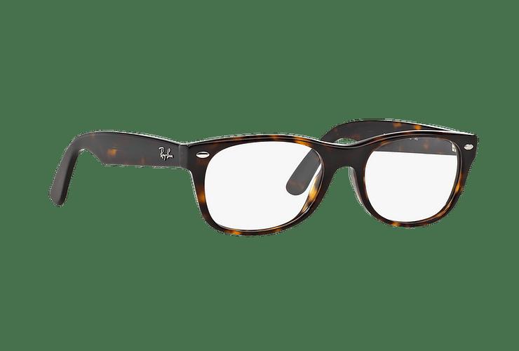 Armazón óptico Ray Ban New Wayfarer RX5184 Dark Havana cod. RX5184 2012 54 - Image 11