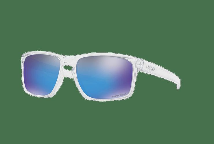 Oakley Sliver Polished Clear lente Sapphire PRIZM cod. OO9262-4757 - Image 1