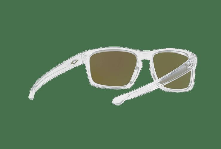 Oakley Sliver Polished Clear lente Sapphire PRIZM cod. OO9262-4757 - Image 7