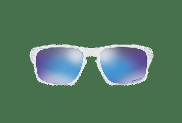 Oakley Sliver Polished Clear lente Sapphire PRIZM cod. OO9262-4757 - Image 12