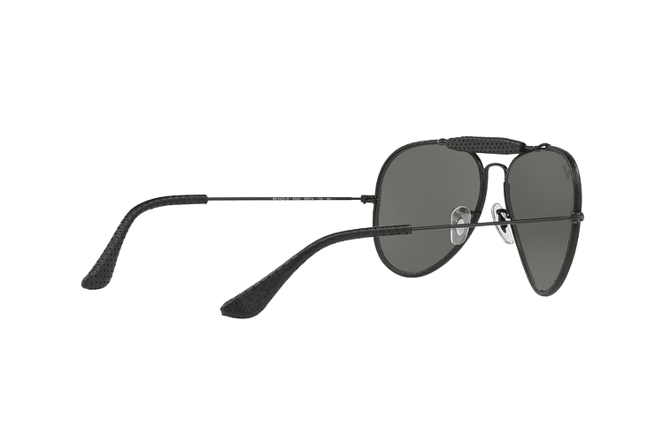 Ray Ban Outdoorsman Craft Leather Black lente Green cod. RB3422Q 9040 58 - Image 8