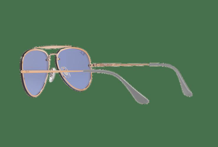 Ray Ban Aviator Blaze Copper lente Blue / Silver Mirror cod. RB3584N 90531U 58 - Image 4