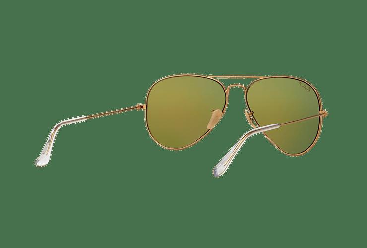Ray Ban Aviador Matte Gold lente Mirror Fucsia Polarized cod. RB3025 112/1Q 58 - Image 7