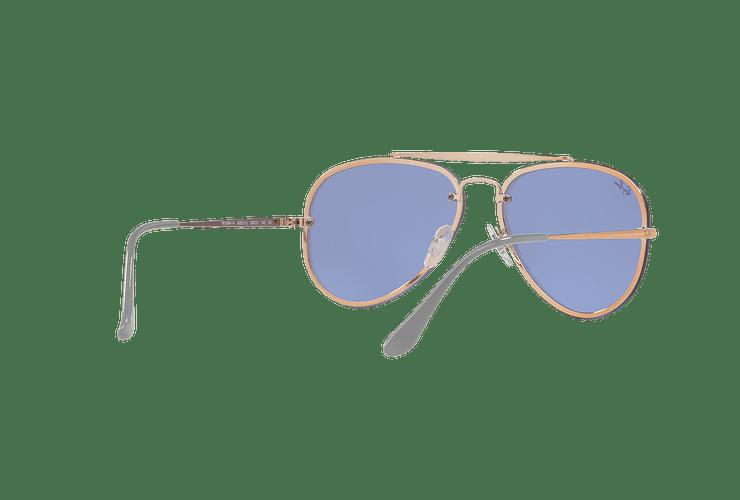 Ray Ban Aviator Blaze Copper lente Blue / Silver Mirror cod. RB3584N 90531U 58 - Image 7