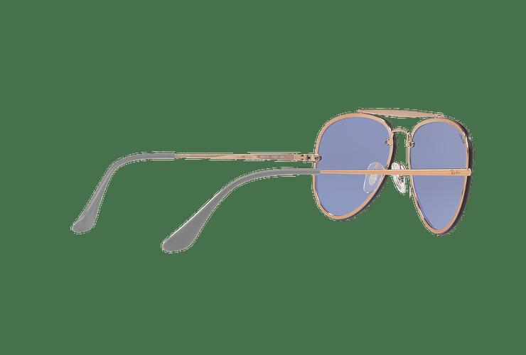 Ray Ban Aviator Blaze Copper lente Blue / Silver Mirror cod. RB3584N 90531U 58 - Image 8