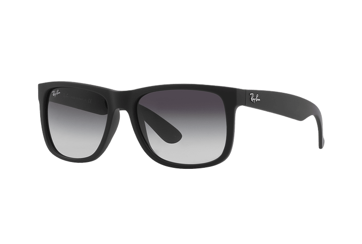 Ray Ban Justin Rubber Black lente Grey Gradient cod. RB4165 601/8G 54 - Image 1