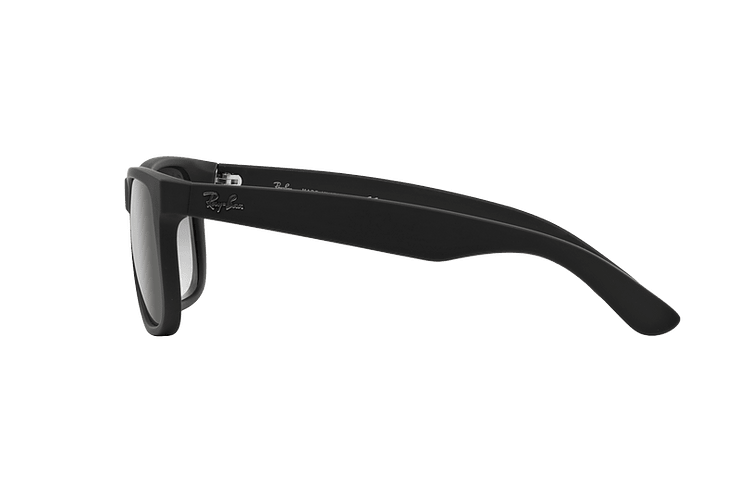 Ray Ban Justin Rubber Black lente Grey Gradient cod. RB4165 601/8G 54 - Image 3