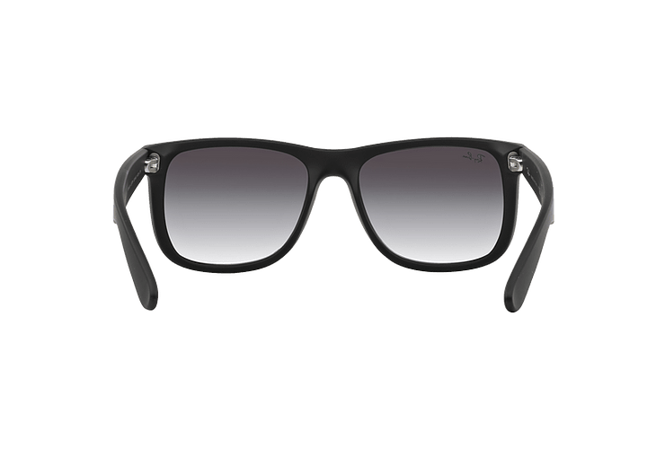 Ray Ban Justin Rubber Black lente Grey Gradient cod. RB4165 601/8G 54 - Image 6