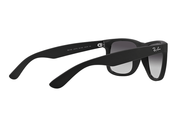 Ray Ban Justin Rubber Black lente Grey Gradient cod. RB4165 601/8G 54 - Image 8