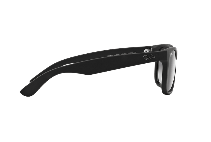 Ray Ban Justin Rubber Black lente Grey Gradient cod. RB4165 601/8G 54 - Image 9