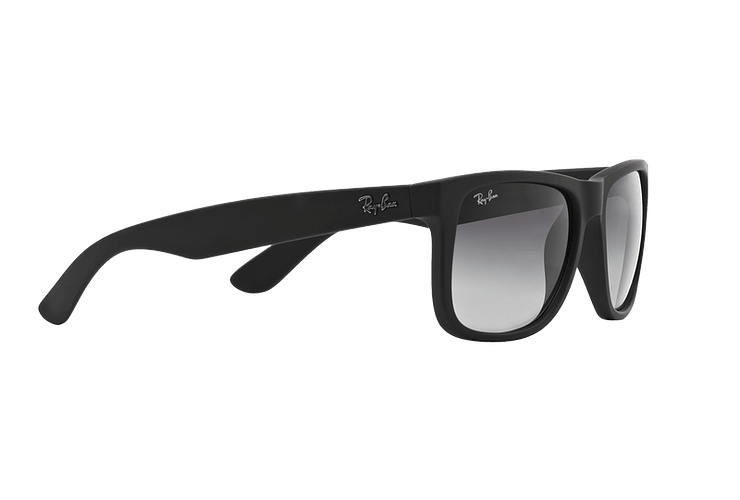 Ray Ban Justin Rubber Black lente Grey Gradient cod. RB4165 601/8G 54 - Image 10