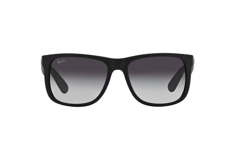 Ray Ban Justin Rubber Black lente Grey Gradient cod. RB4165 601/8G 54 - Image 12