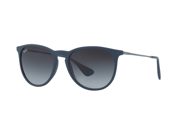 Ray-Ban Erika Rubber Blue lente Grey Gradient cod. RB4171 60028G 54 - Image 1