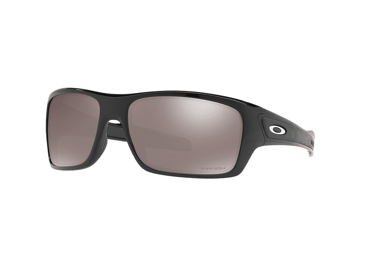 Oakley Turbine Polished Black lente Black Prizm y Polarized cod. OO9263-4163 - Image 1