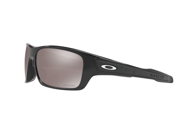 Oakley Turbine Polished Black lente Black Prizm y Polarized cod. OO9263-4163 - Image 2