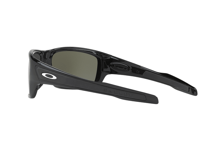 Oakley Turbine Polished Black lente Black Prizm y Polarized cod. OO9263-4163 - Image 4