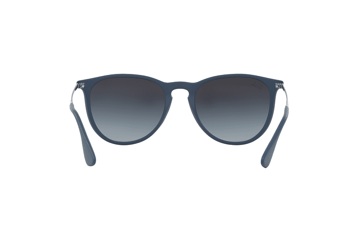 Ray-Ban Erika Rubber Blue lente Grey Gradient cod. RB4171 60028G 54 - Image 6