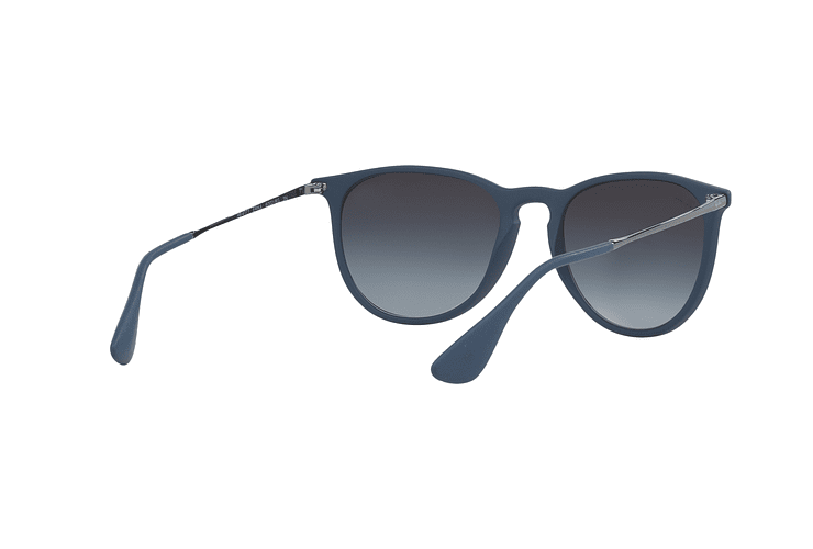 Ray-Ban Erika Rubber Blue lente Grey Gradient cod. RB4171 60028G 54 - Image 7