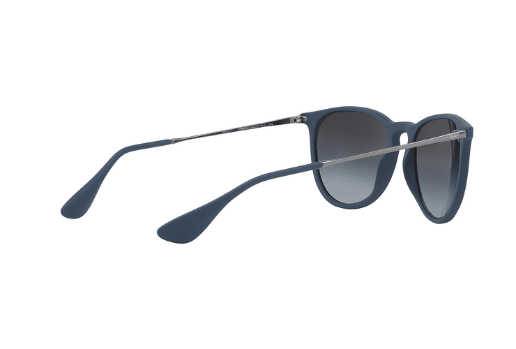 Ray Ban Erika Rubber Blue lente Grey Gradient cod. RB4171 60028G 54 - Image 8