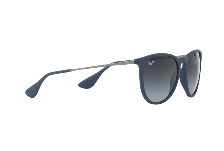 Ray Ban Erika Rubber Blue lente Grey Gradient cod. RB4171 60028G 54 - Image 10