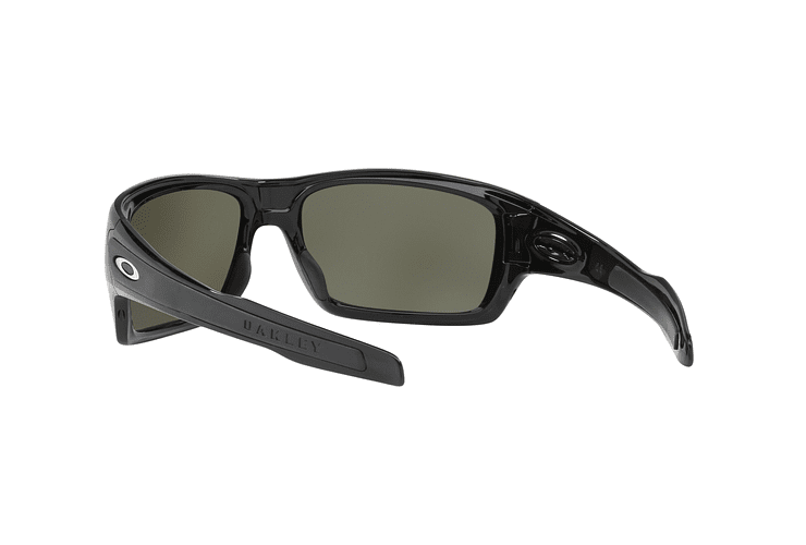 Oakley Turbine Polished Black lente Black Prizm y Polarized cod. OO9263-4163 - Image 5