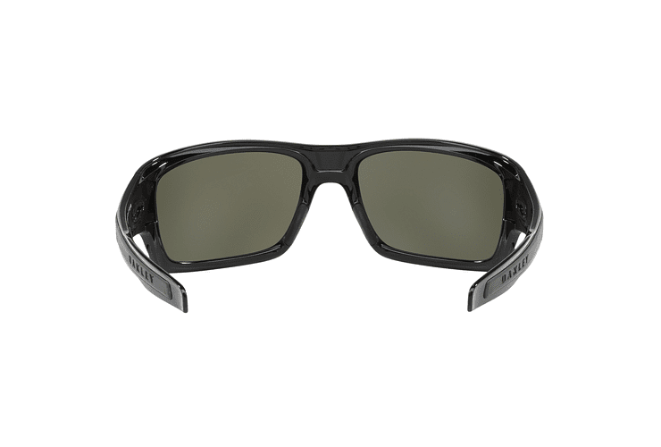 Oakley Turbine Polished Black lente Black Prizm y Polarized cod. OO9263-4163 - Image 6