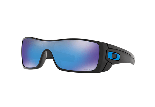Oakley Batwolf Polished Black lente Sapphire PRIZM cod. OO9101-5827