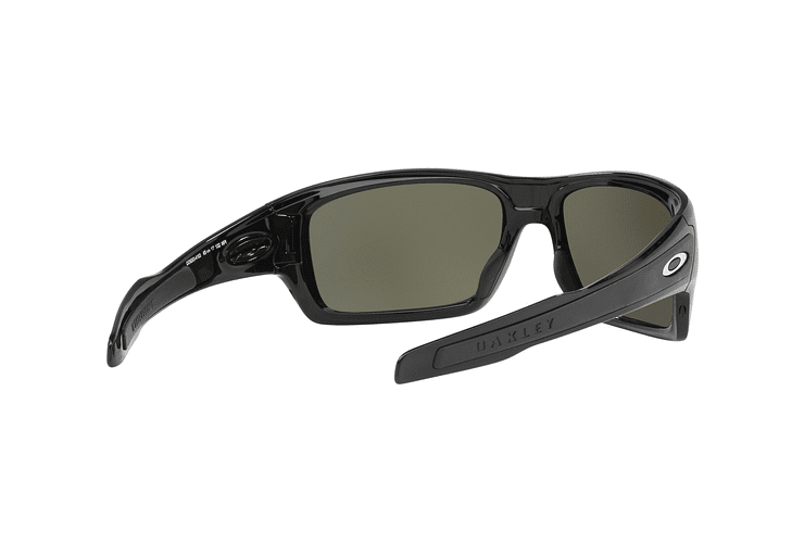 Oakley Turbine Polished Black lente Black Prizm y Polarized cod. OO9263-4163 - Image 7