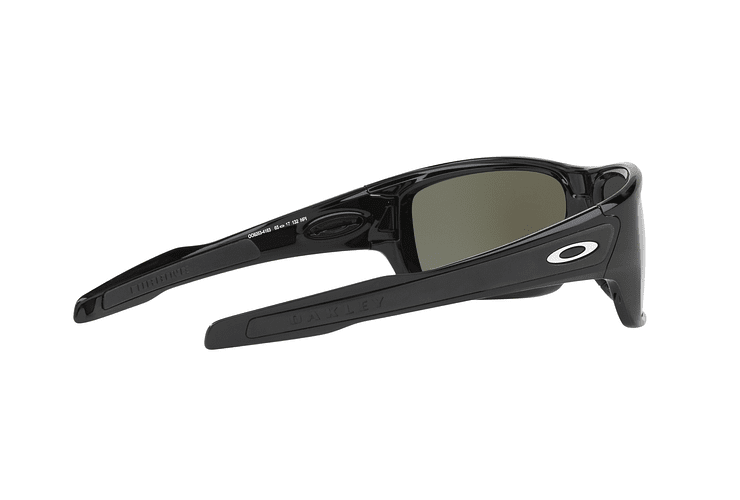 Oakley Turbine Polished Black lente Black Prizm y Polarized cod. OO9263-4163 - Image 8