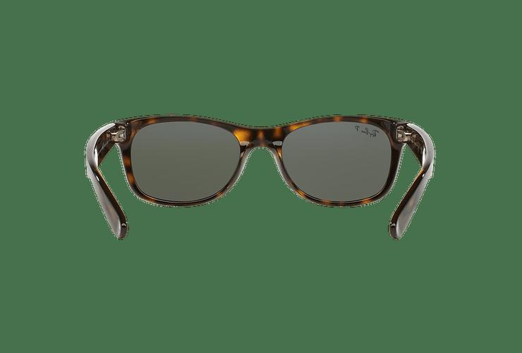 Ray Ban New Wayfarer Tortoise lente Crystal Green Polarized cod. RB2132 902/58 58 - Image 6